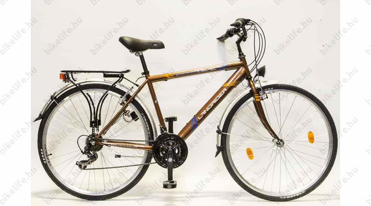 Trekking kerékpár a kényelem megtestesítője