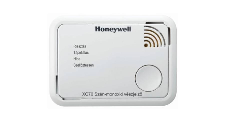 A Honeywell XC70 figyelmeztet a veszélyre