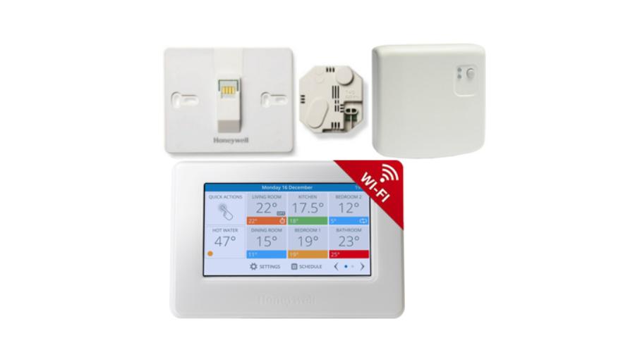 Optimális fűtés Honeywell WiFi termosztáttal